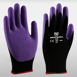 15 Gauge Sandy Latex Coated Gloves