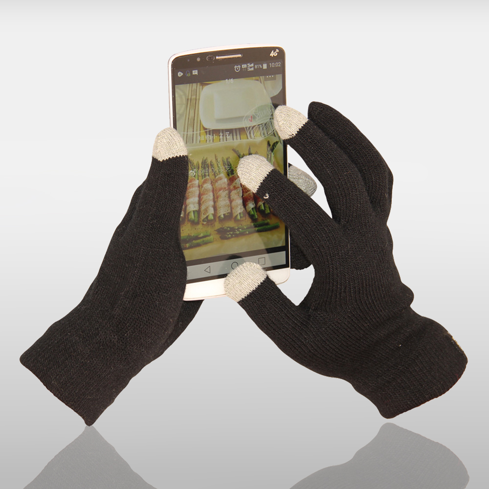 3 Finger Touch Screen Gloves
