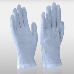 Cotton White Gloves