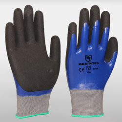 Sandy Nitrile Coated Gloves