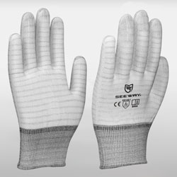 ESD Gloves With Stripes