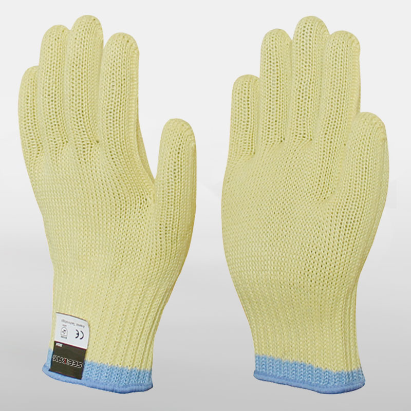 7 Gauge Aramid Cut-Resistant Level 5 Gloves