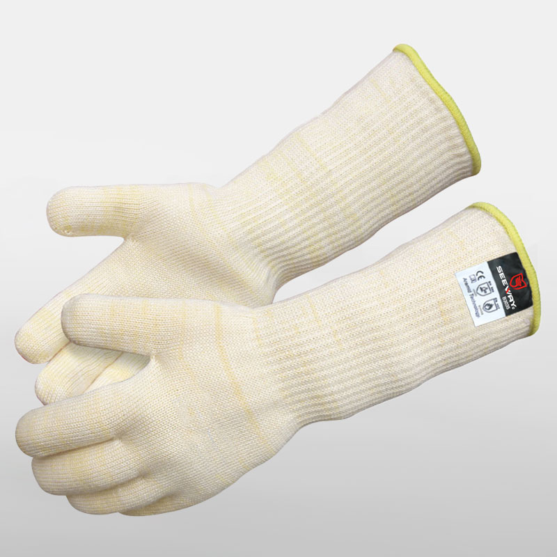 Extreme High Heat Resistant Gloves With Long Cuff