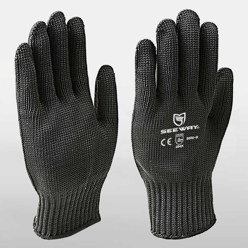 Cut Level 5 Steel Wire Security Gloves