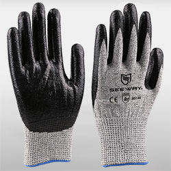 Oil & Cut Resistant Gloves<br />
