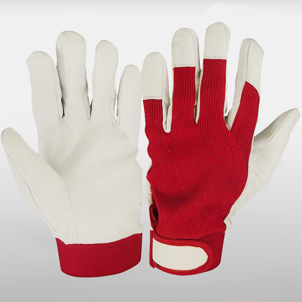 Seeway men's leather work gloves<br />