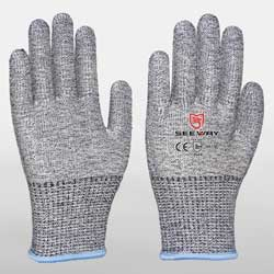 HPPE  Cut Resistant Winter Gloves