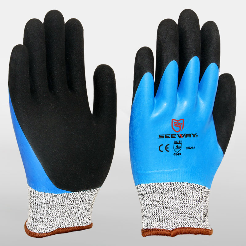 Cut Resistant Nitrile Dipped Cutting Gloves
