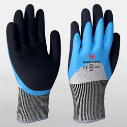 Winter Cut Gloves,Oil,Water And Cold Resistance<br />