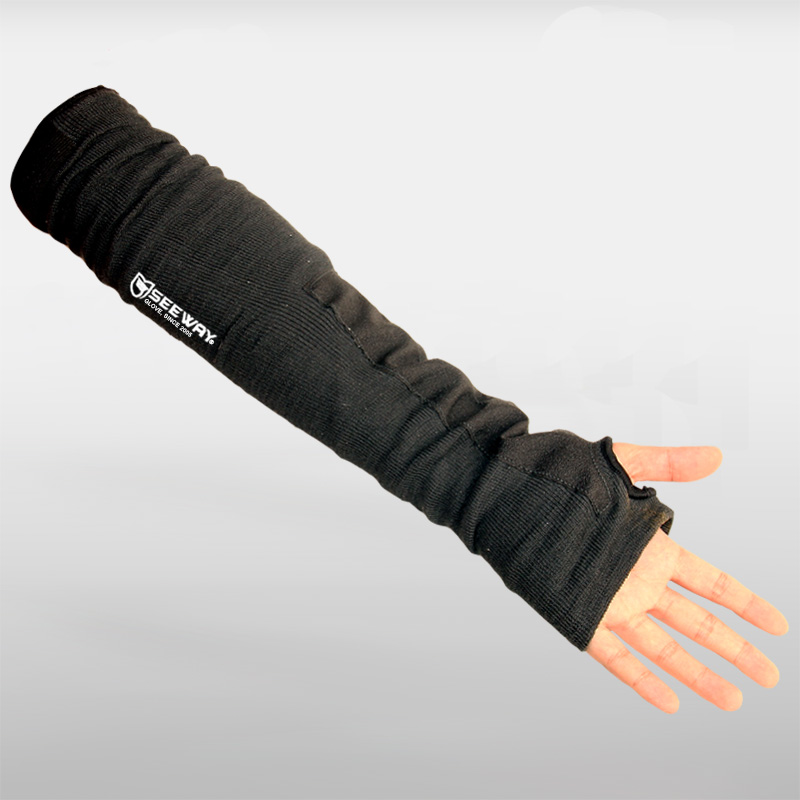 Custom Cut Resistant Knitted Elbow Arm Support Sleeve Guard