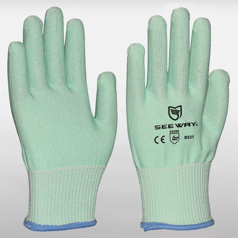 HPPE Cut-Resistant Gloves ( Cut Level 5)