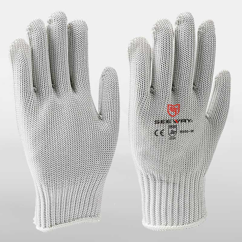 Cut Level 5 Steel Wire Security Gloves<br />