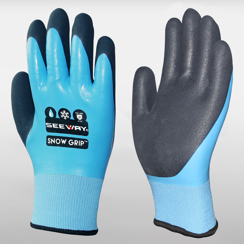 Latex Coated Warm Work Gloves