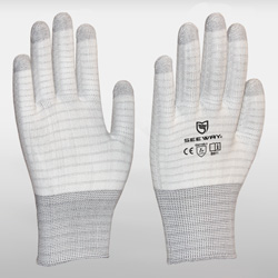 Fingertip Strengthened ESD Gloves<br />