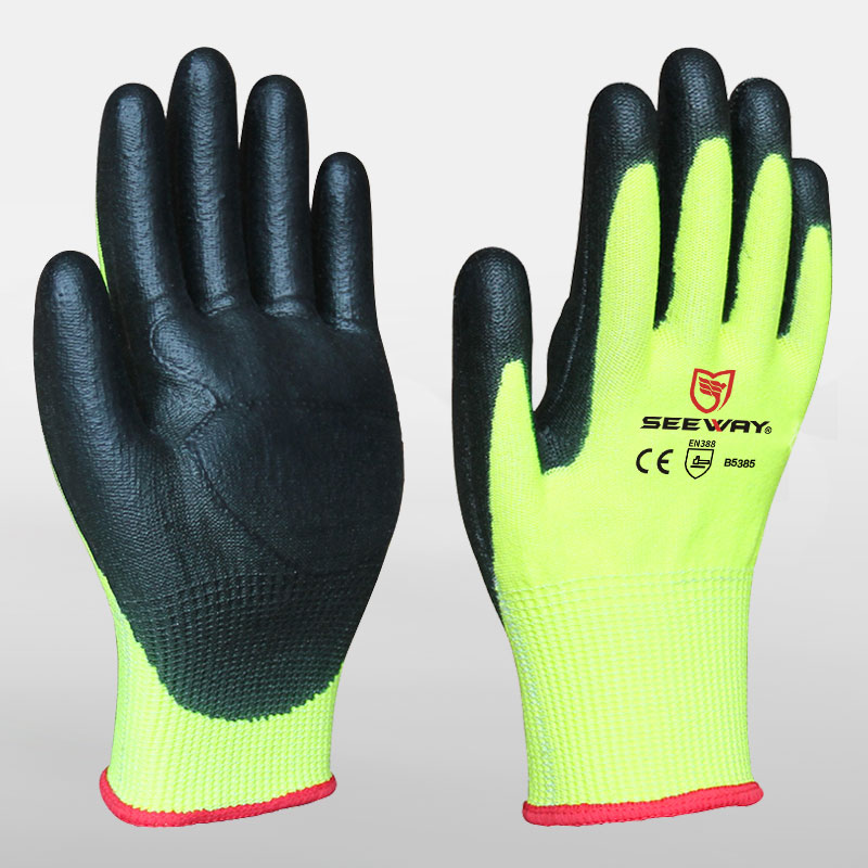 Shock Absorption Cut Resistant Gloves