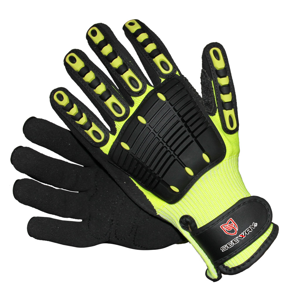 Shock Proof Cut Resistant Gloves