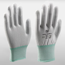 PU Top Coated Gloves