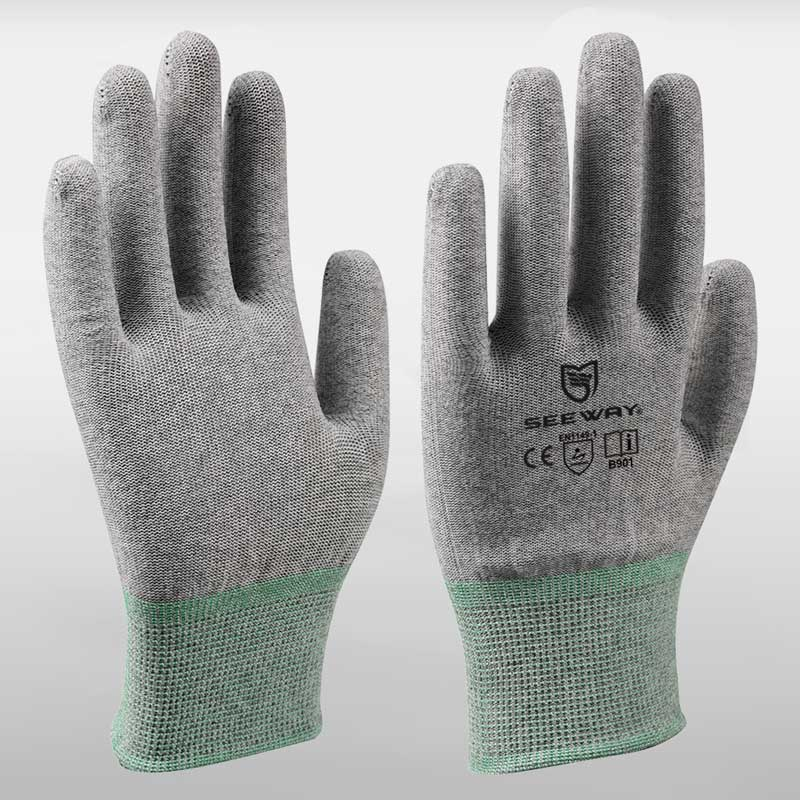 F<span>i</span>ngert<span>ip </span>Coated Conductive Gloves