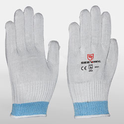 HHPE & Steel Wire Cut Resistant Gloves<br />