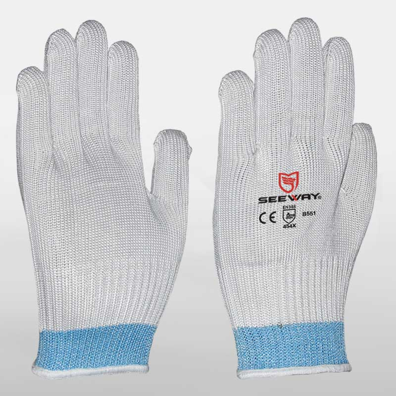 Grade 5 Cut Resistant Glove With Steel Wire