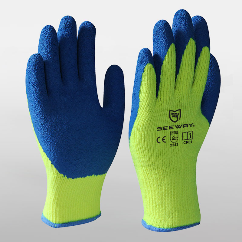 Foam Latex Coated Gloves