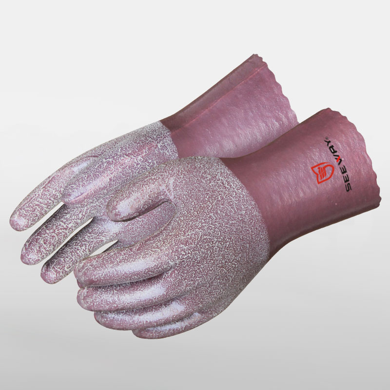 Full Latex Coated Gloves
