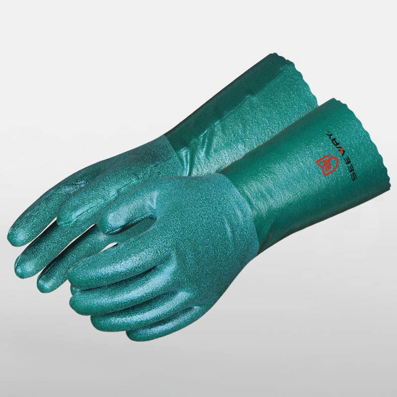 Full Nitrile Coated Gloves