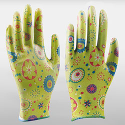 Garden Gloves With Nitrile Coating