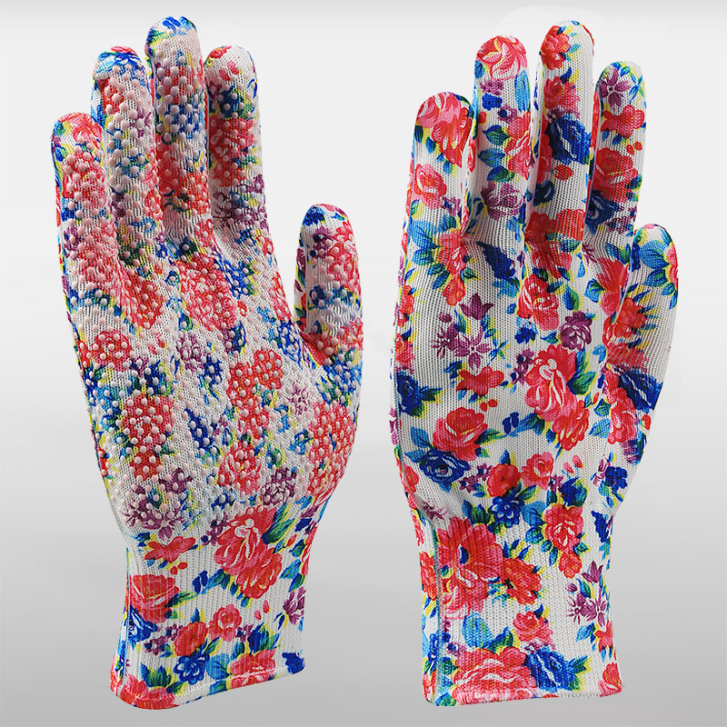 Garden Gloves With PVC Dots