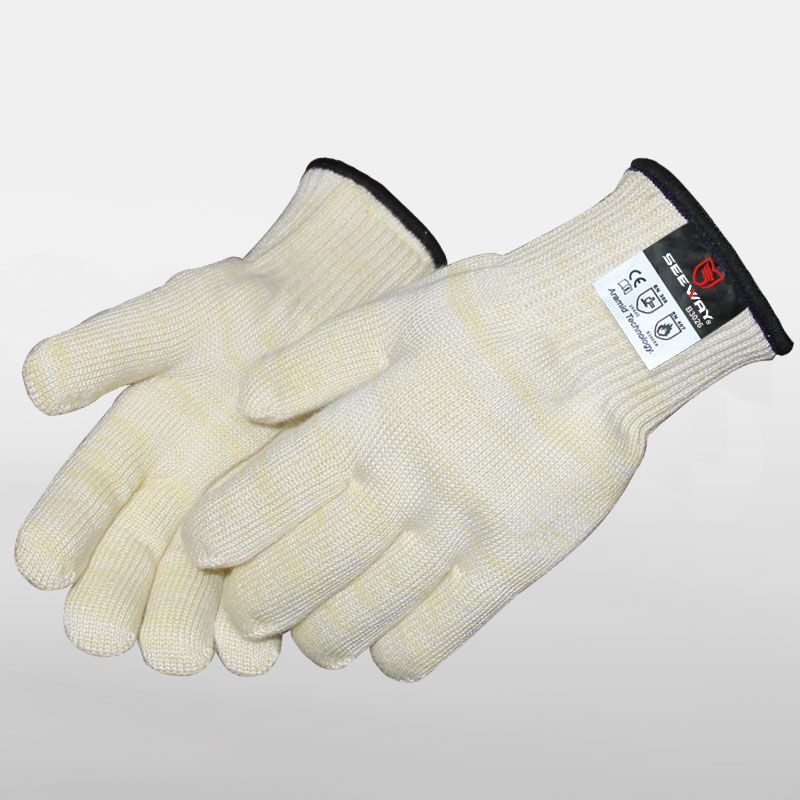 Heat Resistant Gloves (p-aramid+m-aramid+cotton)