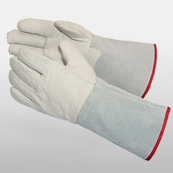 Leather Low Temperature Resistant Gloves