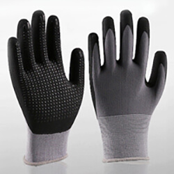 Micro-Foam Nitrile Gloves