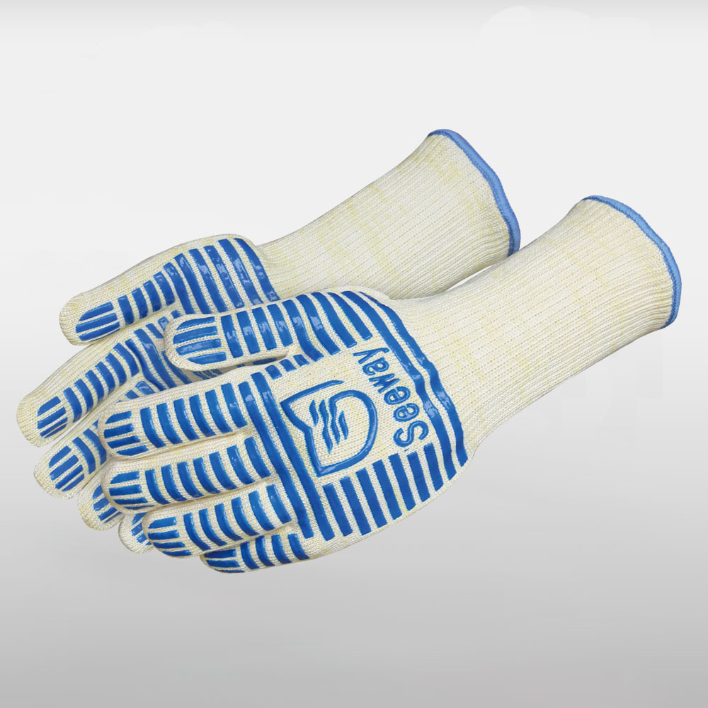Flame-Resistant BBQ gloves